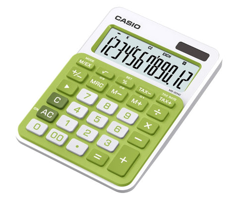 CALCULADORA CASIO de ESCRITORIO MS-20-NC