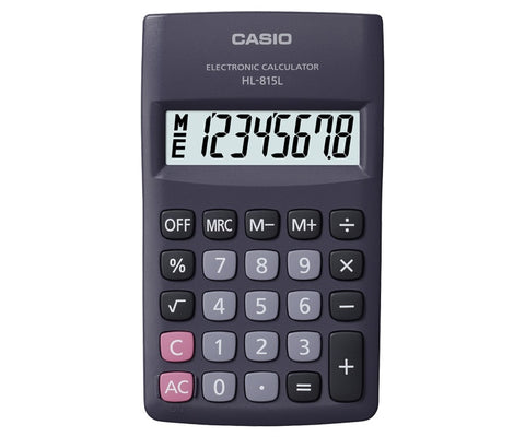CALCULADORA CASIO portatil HL 815 L