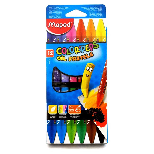 PASTEL AL OLEO MAPED X 12 COLORPEPS 864010