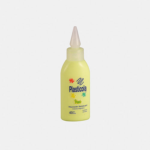 ADHESIVO PLASTICOLA 40GS COLOR FLUO
