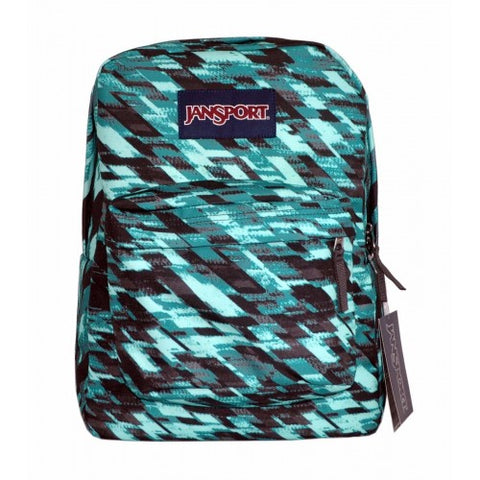 MOCHILA JANSPORT  SUPERBREAK AQUA DASH STATIC 501OJT
