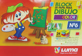BLOCK Nº 6 SIMIL EL NENE ECONOMICO COLOR
