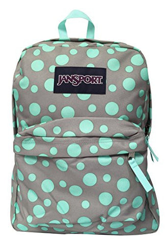 MOCHILA JANSPORT  SUPERBREAK GREY RABBIT SYLVIA DOT T5010BE