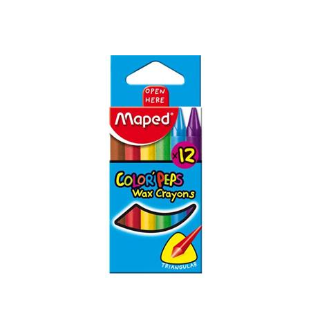CRAYONES FINOS MAPED Colorpeps X 12