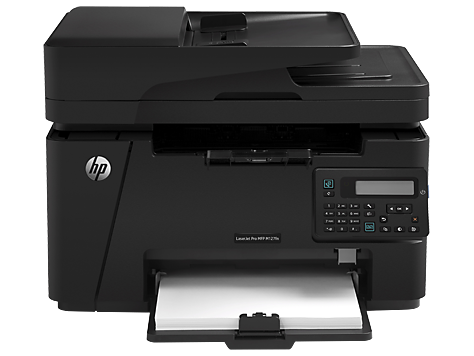 IMPRESORA Multifuncion Laser Hp 127fn Copia Fax Scanner Red