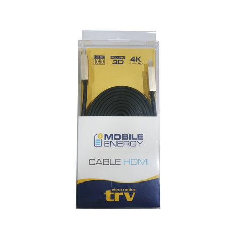 CABLE HDMI (M-M) 3 MTS TRV 1080P/3D/4K