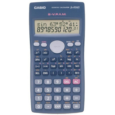 Calculadora CASIO FX 95MS CIENTIFICA Equation