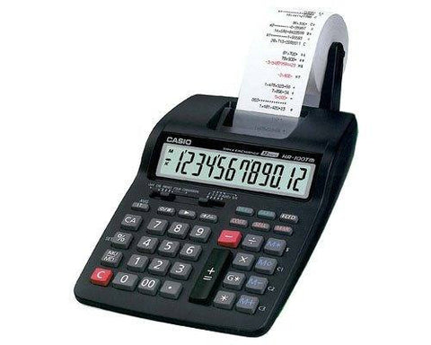 CALCULADORA CASIO C/IMPRESOR HR 100TM