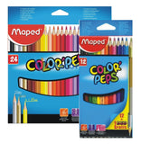 LAPICES DE COLORES MAPED COLOR PEPS (12 / 24)