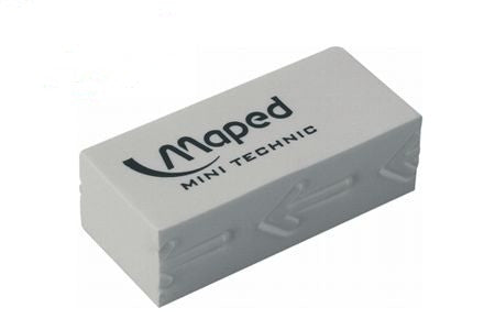 GOMA DE BORRAR MAPED MINI TECHNIC LAPIZ