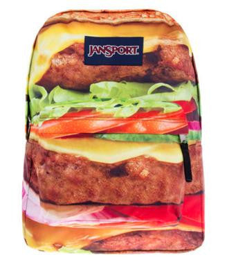 MOCHILA JANSPORT  SUPERBREAK HAMBURGUER
