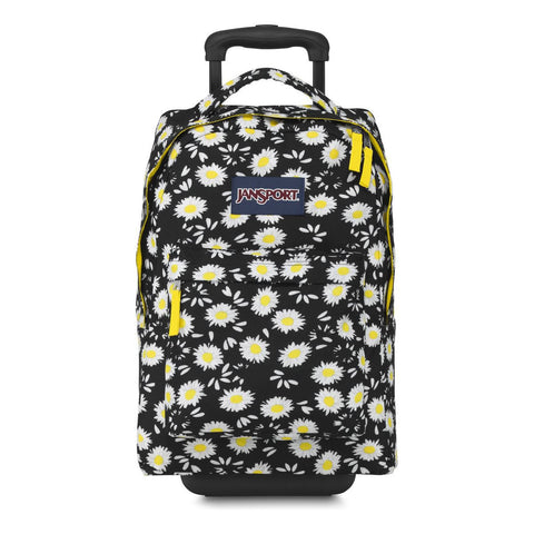 MOCHILA JANSPORT WHEELED BLACK LUCKY DAI THE90AA