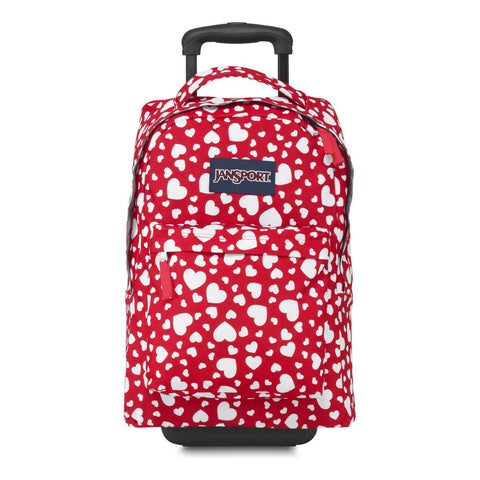 MOCHILA JANSPORT WHEELED HIGH RISK HEART THE90A5