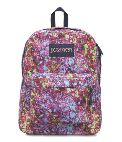 MOCHILA JANSPORT  SUPERBREAK MULTIFLOWER EXPLOSION T5010UE