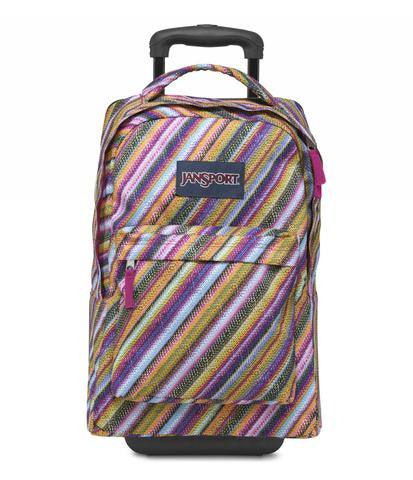 MOCHILA JANSPORT WHEELED MULTI TEXTURE
