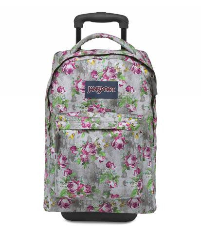 MOCHILA JANSPORT WHEELED MULTI CONCRETE FLORAL