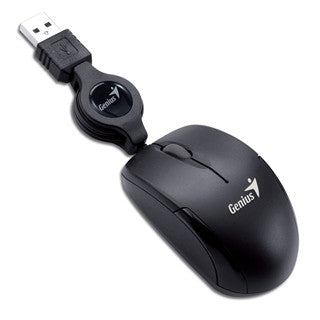 MOUSE GENIUS MICRO TRAVELER USB BLK