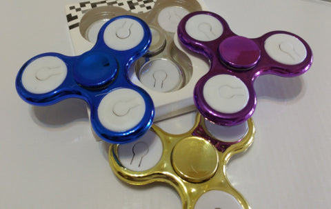 "Fidget Spinner ""Light"" (Luces Multicolores)"