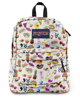 MOCHILA JANSPORT  SUPERBREAK MULTI STICKERS T5010KN
