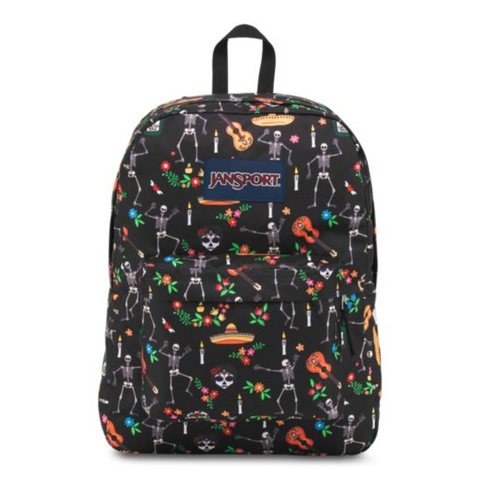 MOCHILA JANSPORT  SUPERBREAK DAY OF THE DEAD T5013D2