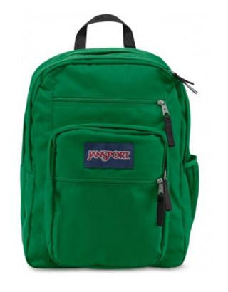 MOCHILA JANSPORT BIG STUDENT AMAZON GREEN TDN70DH