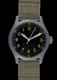 A-11 1940s WWII Pattern Military Watch (Automatic) with 100m Water Resistance and Sapphire Crystal