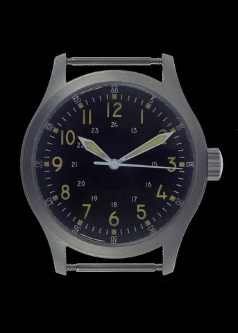 A-17 U.S 1950s Korean War Pattern Military Watch (Mechanical/Quartz Hybrid) with 100m Water Resistance