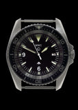 MWC Military Divers Watch in Stainless Steel with European NATO Pattern Dial (Automatic)