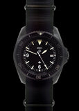 MWC Military Divers Watch in PVD Steel Case with European NATO Dial (Quartz)