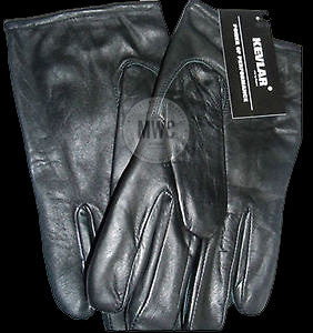 Lightweight Kevlar Lined Professional Security / Police Gloves