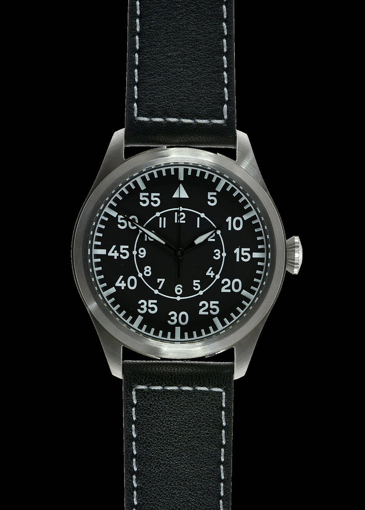 MWC Classic 46mm Limited Edition XL Luftwaffe Pattern Military Aviators Watch