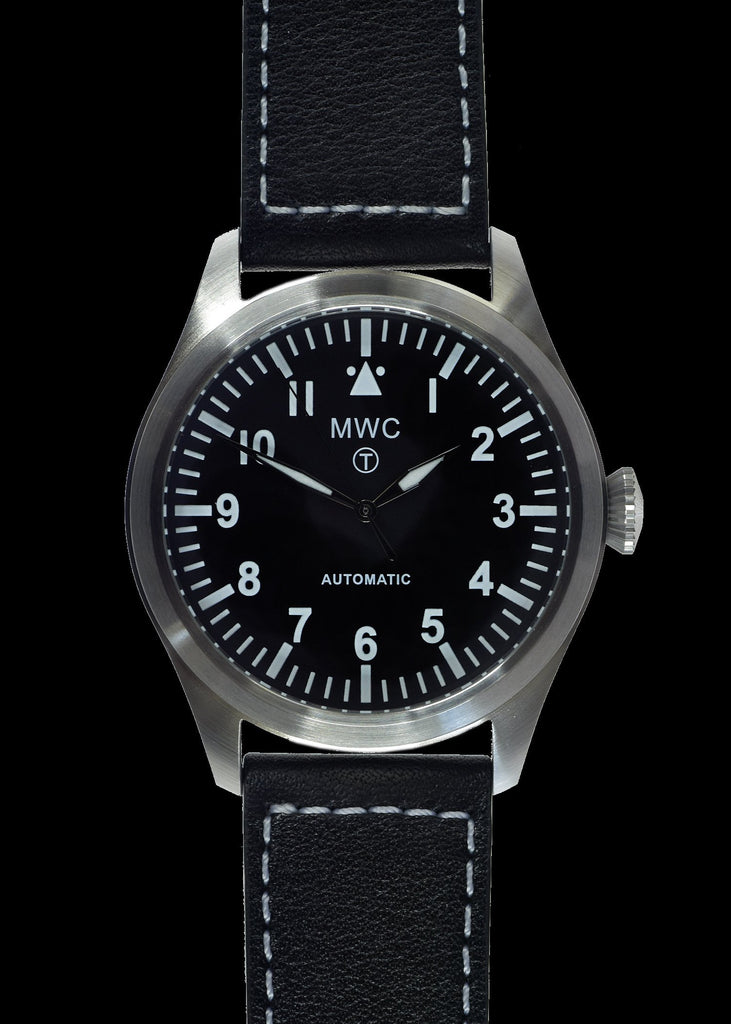 MWC Classic 46mm Limited Edition XL Military Pilots Watch with Sweep Second Hand