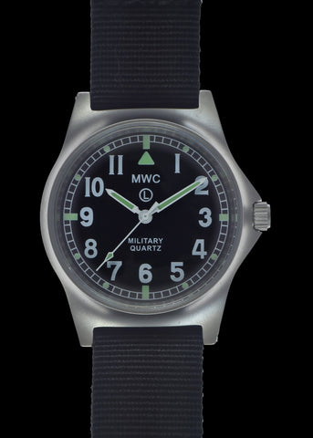MWC G10 LM Military Watch Without Date (Black Strap)