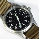 Quartz GG-W-113 US 1960's Pattern Military Watch with Sweep Second hand.