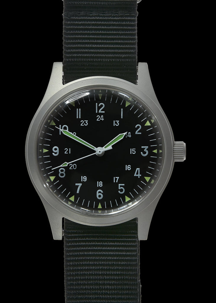 GG-W-113 1960s US Pattern Automatic Military Watch