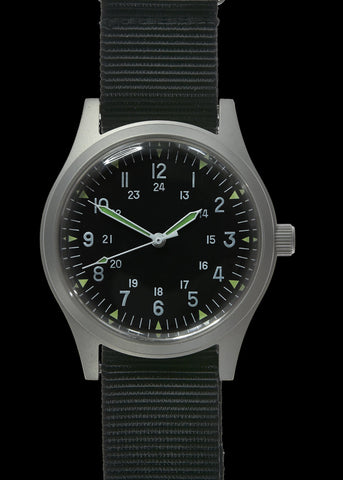 Olive Vietnam Watch on Olive Green Strap