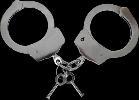 Standard Handcuffs Designed For Police or Security Use