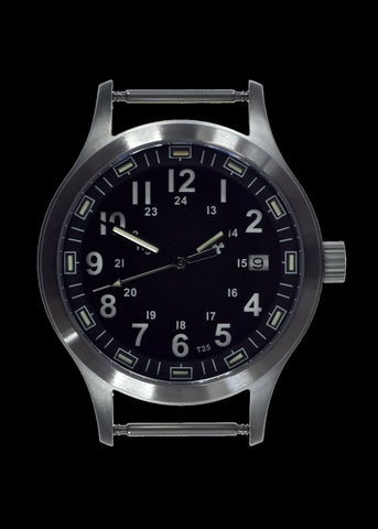 MWC MKIII Stainless Steel MKIII Model with Tritium GTLS Tubes (10 Year Battery Life Quartz Movement)