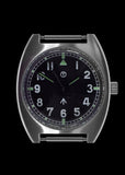 MWC W10 1970's Pattern (Unbranded Dial) Hybrid Quartz/Mechanical Military Watch with 100m Water Resistance