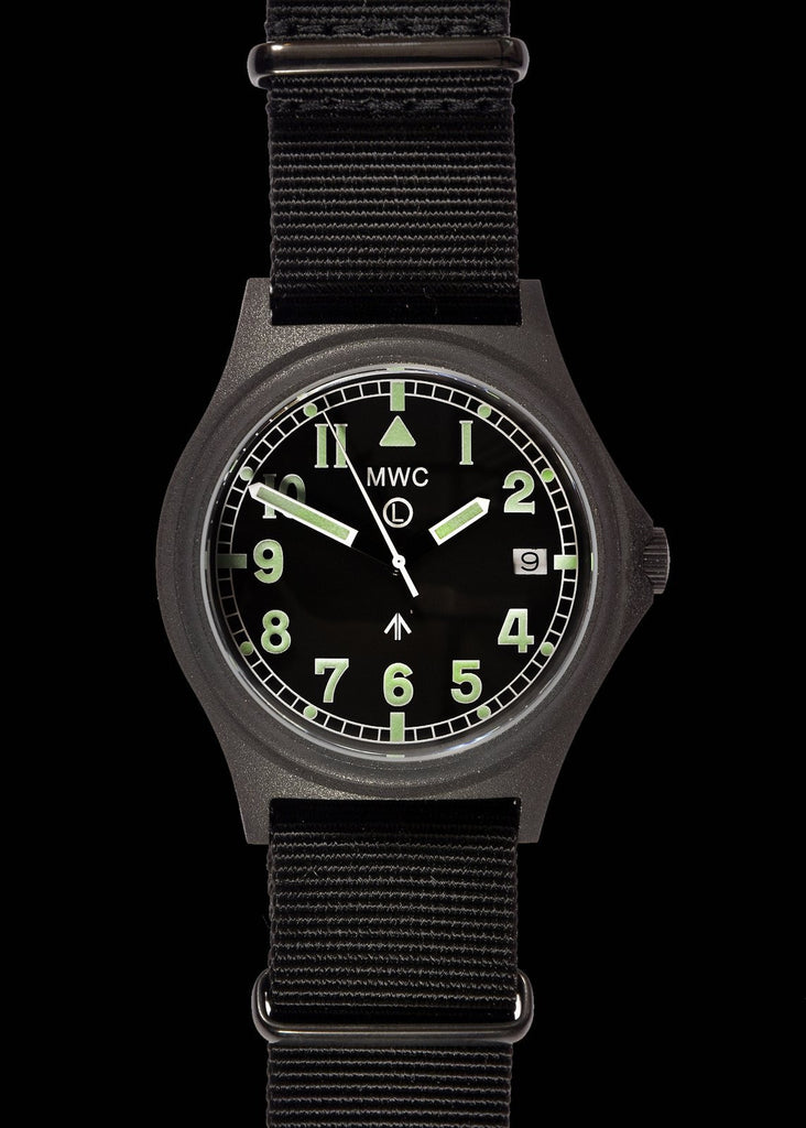 MWC G10 300m / 1000ft Water resistant PVD Steel Military Watch with Sapphire Crystal (Dated)