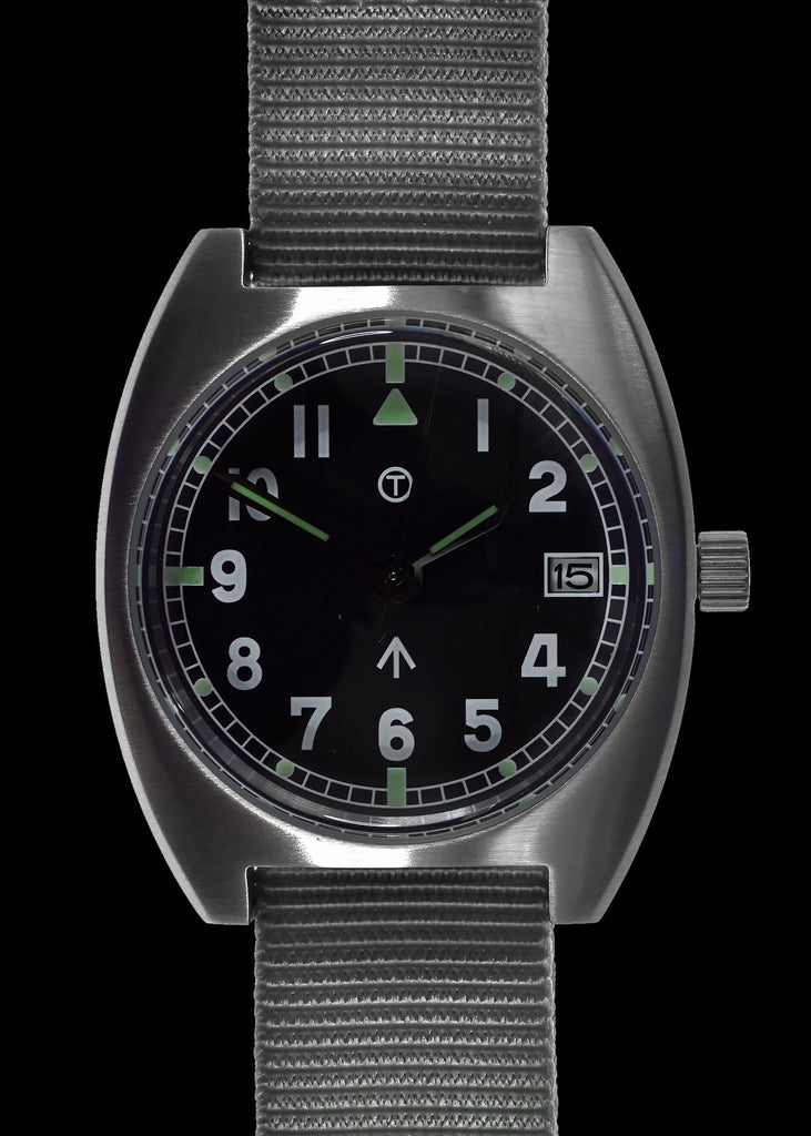 MWC W10 1970s Pattern (Unbranded Dial) 24 Jewel Automatic Military Watch with 100m Water Resistance