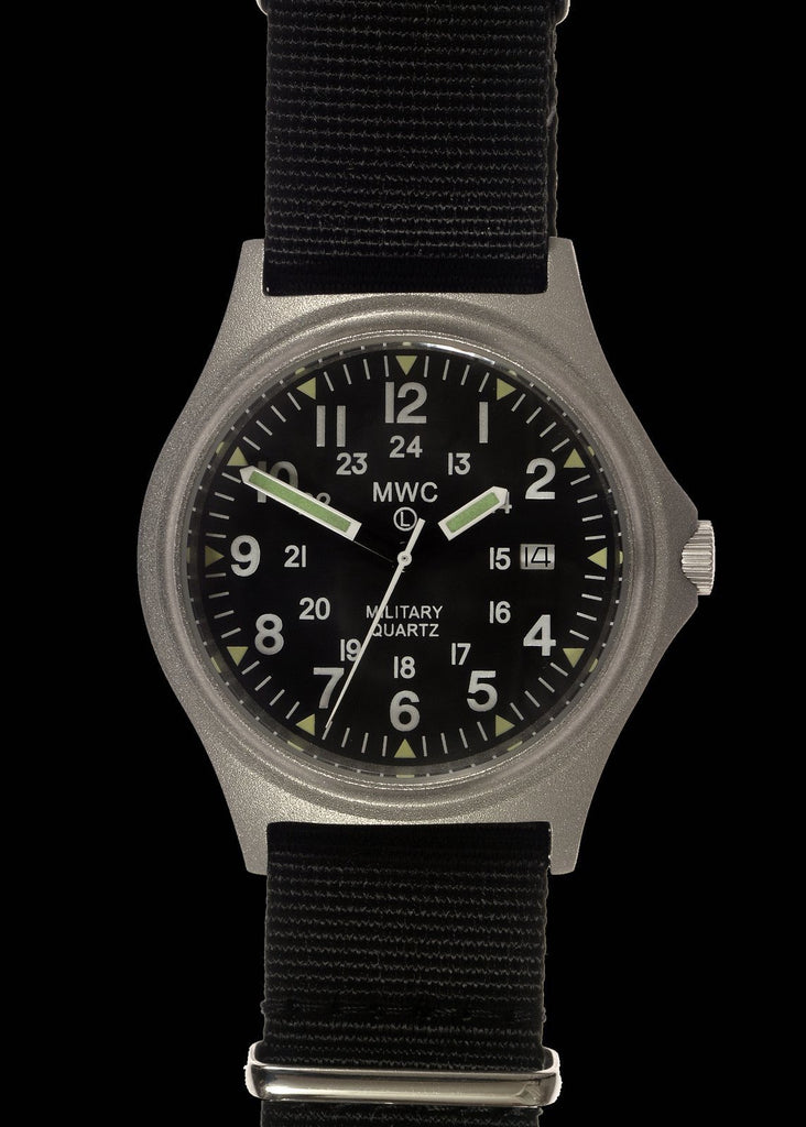 MWC G10BH 12/24 50m Water Resistant Military Watch