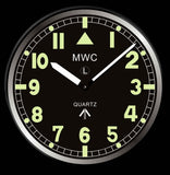 MWC Retro G10 Pattern Military Wall Clock