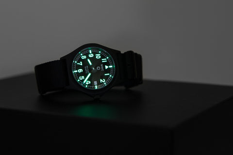 MWC G10 50m PVD Stealth Military Watch with Battery Hatch