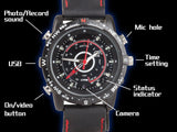 Covert Surveillance Watch with 8GB of Memory Records Video, Audio, Still Images Etc