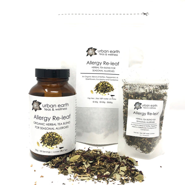 Allergy-Re-leaf  (Herbal Tea Blend for Seasonal Allergies)