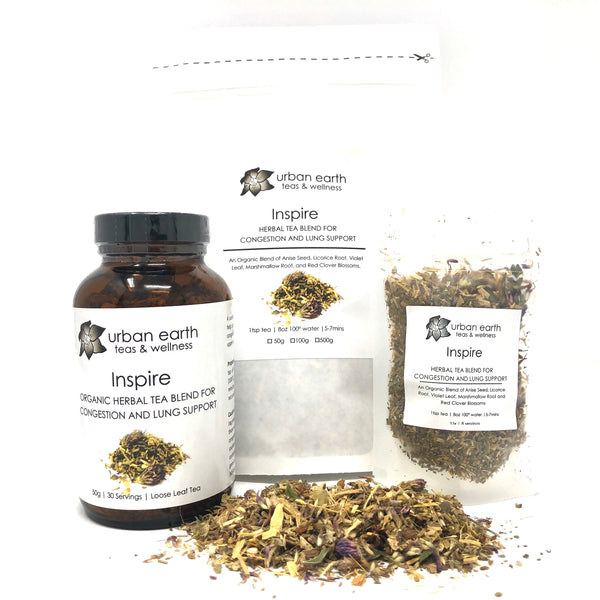 Inspire (Herbal Tea for Congestion and Lung Support)