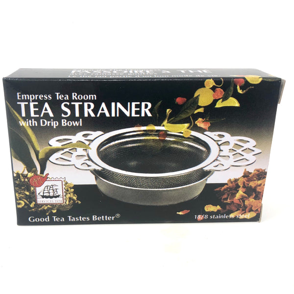 Empress Tea Room Strainer with Drip Bowl