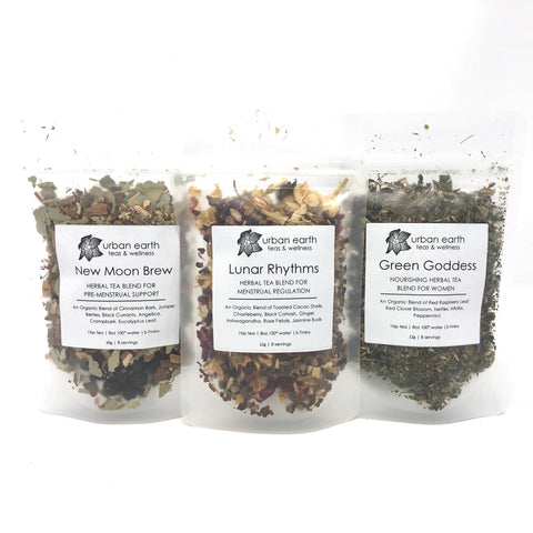 Moon Time Tea Collection: Set of 3 Teas