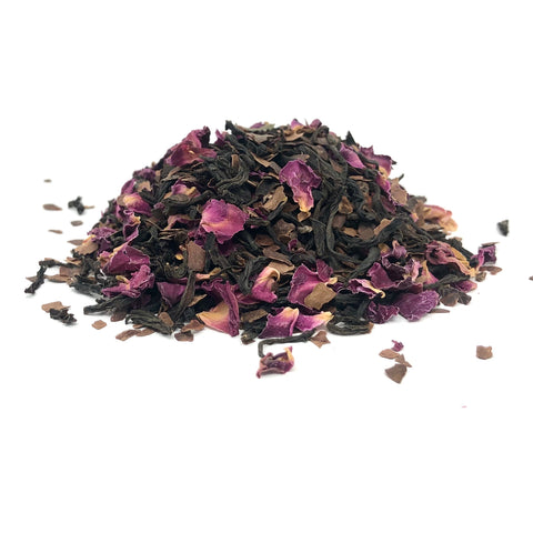 Vanilla Chocolate Rose (Black Tea Blend)